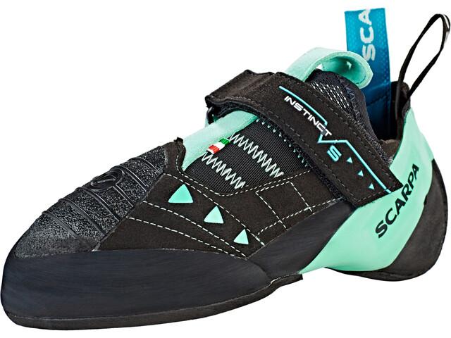 Scarpa Instinct VS Climbing Shoes Dame black-aqua